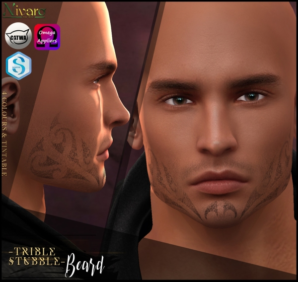 -Nivaro- Catwa Beard Applier - TribalStubble